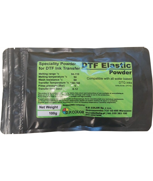 DTF Speciality Elastic Powder 100g